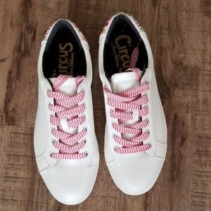 Circus by Sam Edelman White Sneakers with beads